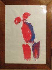 Körperabdrucke frei nach Yves Klein