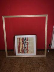 Bilderrahmen Holz 100x101