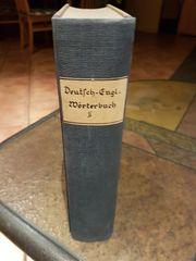Altes Wörterbuch von 1863 Deutsch-Englisch