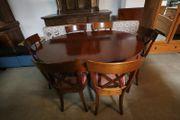 Esstisch mit 6 Stühlen 147x77x109 -