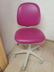 Bürostuhl pink - Lehne und Höhe