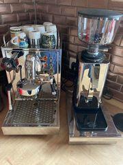 ECM Espressomaschine ECM Kaffeemühle
