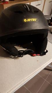 Helm Snowboard Skihelm Schwarz