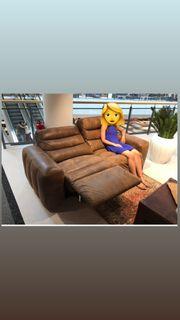 Big Sofa Couch mit elektrischer