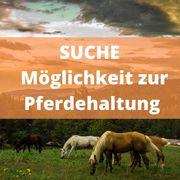 Suche Möglichkeit zur Pferdehaltung im