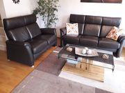 Wohnzimmer Couch Garnitur Echtleder - Top