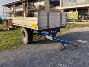 Traktoranhänger kippbar