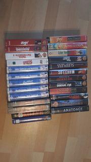 VHS Kasetten versch Bücher z
