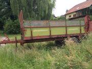 Anhänger Strautmann 5 4 t
