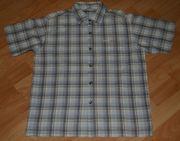 Kariertes Sommer-Hemd - Größe 146-152 - Kurzarm -
