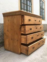 Riesige Kommode Naturholz frisch saniert