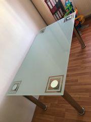 Esstisch aus Glas 160x99