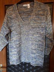 Winter-Pullover Gr 48 50 Blau