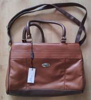 Braune Damen-Handtasche Neu mit Etikett
