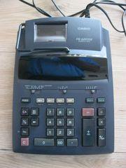 CASIO Tischrechner Taschenrechner kaum verwendet