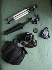 Sony Alpha 68 Spiegelreflexkamera Paket