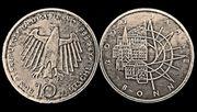 10 Mark-Münze BONN