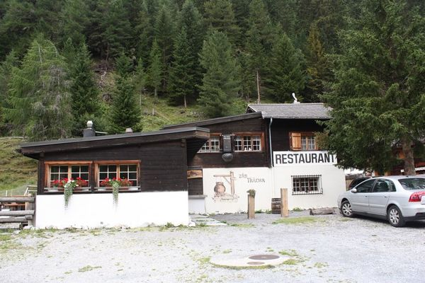 Ausflugsrestaurant im Wallis - Schweiz