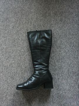Schuhe, Stiefel - Damenstiefel aus Leder inkl Versand