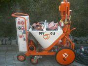 PFTG5 Putz PFT G4 Maschine