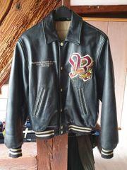 Vintage Redskins Lederjacke Dragon Teddy