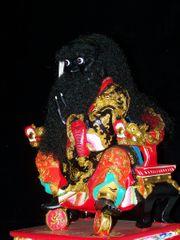 Chinesische Holzstatue