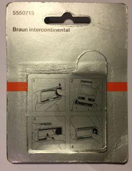 Kosmetik und Schönheit - Original Braun Scherfolie 550