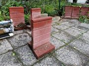 Mauer T-Steine aus Beton