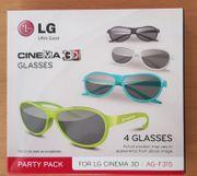 4x LG AG-F315 Cinema 3D