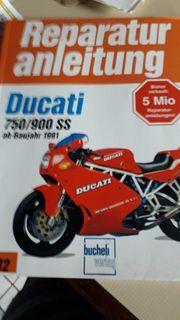 Reperaturanleitung Ducati 750 900SS