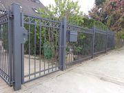 Zaun aus Polen Doppelstabmattenzäune Tor