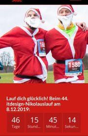 Biete Startplatz für Nikolauslauf Tübingen