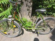 Fahrrad mit einer defekten Pedale