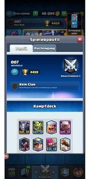 Clash Royal lvl 12 Account