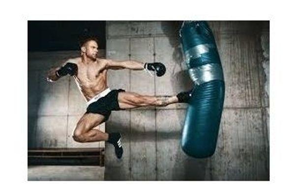 Kickboxen Boxen Training Partner-Raum