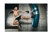 Kickboxen Boxen Training Partner-Raum