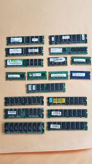 Verschiedene RAM Riegel SDRAM DDR1