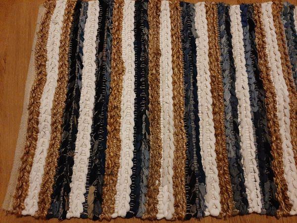 Kleiner Teppich in tollen Farben