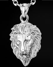 Löwen Halskette Hip Hop Sternbild