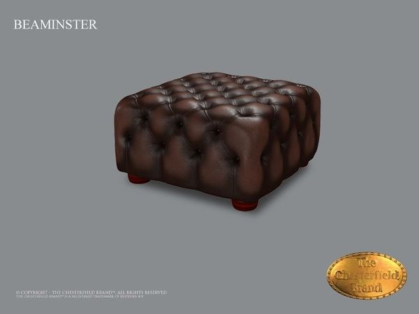 Beaminster Chesterfield Hocker