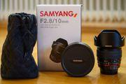 Samyang - 10mm F2 8 DX