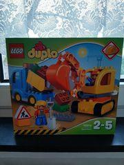 LEGO Duplo Bagger und Lastwagen