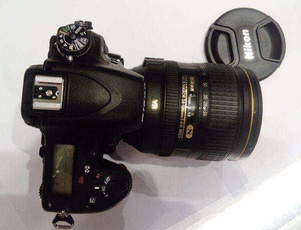 NiKON D750 Spiegelreflex Kamera-Schwarz+ (Kit mit AF-S VR 24-120mm 14G)Objektiv