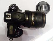 NiKON D750 Spiegelreflex Kamera-Schwarz Kit