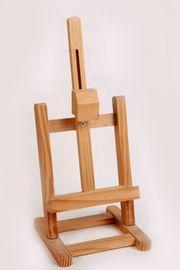 Holz-Bilderstaffelei-37cm Höhe für Bilderrahmen