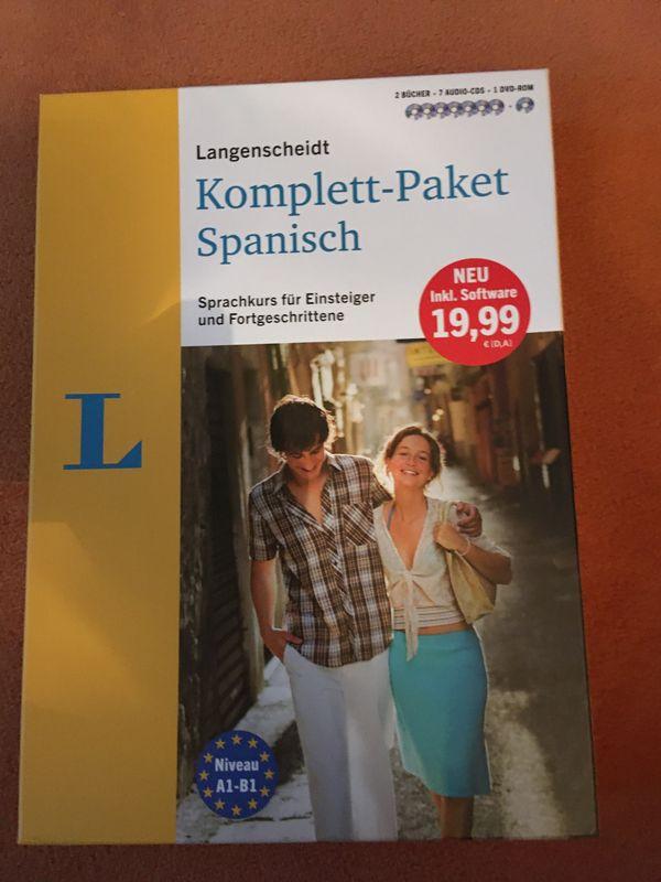 NEU - Langenscheidt Spanisch Sprachkurs