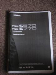 PSR 970 770 Referenzhandbuch Bedienung