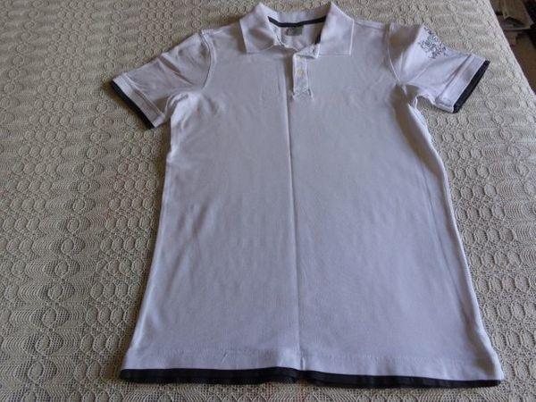 Herren-Polo-Shirt in 2in1-Optik Gr M