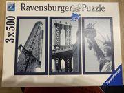 Ravensburger Puzzle 3 x 500
