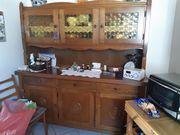 Küchenschrank Eiche rustikal massiv